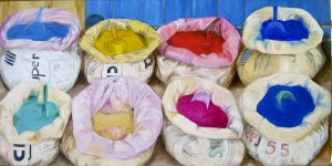 bags-of-coloured-cement-in-morocco