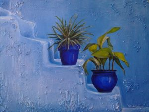 blue-pots-in-chaouenne
