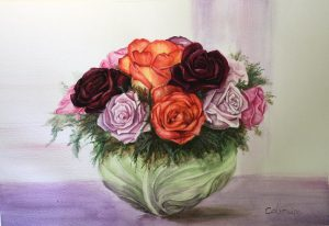roses-in-a-cabbage